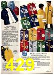 1975 Sears Fall Winter Catalog, Page 429