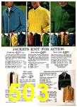 1969 Sears Spring Summer Catalog, Page 503
