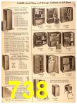 1956 Sears Fall Winter Catalog, Page 738