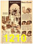 1940 Sears Fall Winter Catalog, Page 1210
