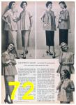 1957 Sears Spring Summer Catalog, Page 72