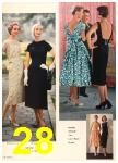 1958 Sears Spring Summer Catalog, Page 28