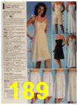 1987 Sears Spring Summer Catalog, Page 189