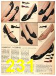 1956 Sears Fall Winter Catalog, Page 231