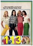 1974 Sears Spring Summer Catalog, Page 113