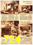 1940 Sears Fall Winter Catalog, Page 724