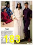 1982 Sears Fall Winter Catalog, Page 183