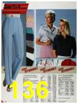 1986 Sears Spring Summer Catalog, Page 136