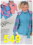 1988 Sears Fall Winter Catalog, Page 549