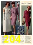 1965 Sears Fall Winter Catalog, Page 204