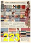 1958 Sears Spring Summer Catalog, Page 223