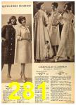 1962 Sears Fall Winter Catalog, Page 281