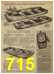 1962 Sears Spring Summer Catalog, Page 715