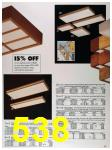 1989 Sears Home Annual Catalog, Page 538