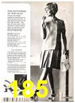 1969 Sears Spring Summer Catalog, Page 185