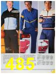 1986 Sears Fall Winter Catalog, Page 485