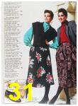 1985 Sears Fall Winter Catalog, Page 31