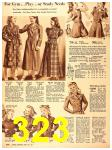 1940 Sears Fall Winter Catalog, Page 323