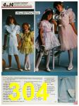 1986 Sears Spring Summer Catalog, Page 304
