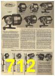 1960 Sears Spring Summer Catalog, Page 712