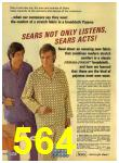 1972 Sears Fall Winter Catalog, Page 564