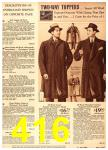 1940 Sears Fall Winter Catalog, Page 416
