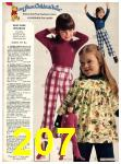 1973 Sears Fall Winter Catalog, Page 207