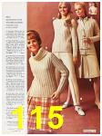1967 Sears Fall Winter Catalog, Page 115