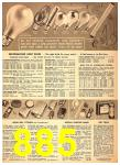 1949 Sears Spring Summer Catalog, Page 885