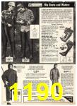 1975 Sears Fall Winter Catalog, Page 1190