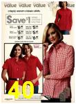 1977 Sears Fall Winter Catalog, Page 40
