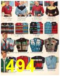 1956 Sears Fall Winter Catalog, Page 494