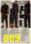 1980 Sears Fall Winter Catalog, Page 669