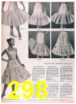 1957 Sears Spring Summer Catalog, Page 298