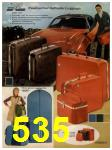 1972 Sears Fall Winter Catalog, Page 535