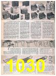 1957 Sears Spring Summer Catalog, Page 1030
