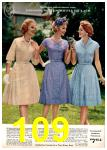 1962 Montgomery Ward Spring Summer Catalog, Page 109