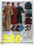 1986 Sears Fall Winter Catalog, Page 550