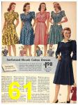 1942 Sears Spring Summer Catalog, Page 61