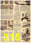 1962 Sears Fall Winter Catalog, Page 315