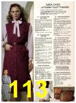 1982 Sears Fall Winter Catalog, Page 113