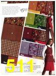 1971 Sears Fall Winter Catalog, Page 511