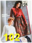 1985 Sears Fall Winter Catalog, Page 102