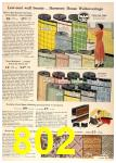 1958 Sears Spring Summer Catalog, Page 802