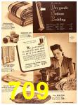 1940 Sears Fall Winter Catalog, Page 709