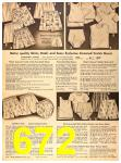 1956 Sears Fall Winter Catalog, Page 672