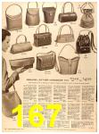 1956 Sears Fall Winter Catalog, Page 167