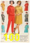 1962 Sears Fall Winter Catalog, Page 100
