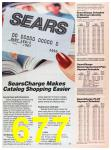 1988 Sears Fall Winter Catalog, Page 677
