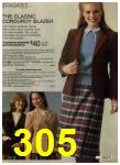 1980 Sears Fall Winter Catalog, Page 305